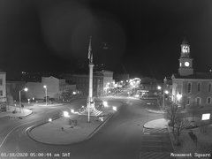 view from 13 East Market Street - Lewistown PA (west) on 2020-01-18