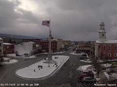 view from 13 East Market Street - Lewistown PA (west) on 2020-01-19