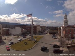 view from 13 East Market Street - Lewistown PA (west) on 2020-02-14