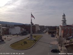 view from 13 East Market Street - Lewistown PA (west) on 2020-02-15