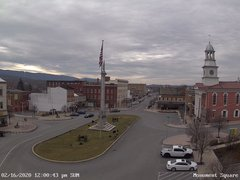 view from 13 East Market Street - Lewistown PA (west) on 2020-02-16
