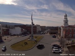 view from 13 East Market Street - Lewistown PA (west) on 2020-03-02