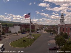 view from 13 East Market Street - Lewistown PA (west) on 2020-06-01