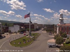 view from 13 East Market Street - Lewistown PA (west) on 2020-06-12