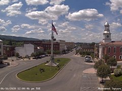 view from 13 East Market Street - Lewistown PA (west) on 2020-06-16
