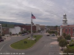 view from 13 East Market Street - Lewistown PA (west) on 2020-06-17