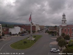 view from 13 East Market Street - Lewistown PA (west) on 2020-06-20