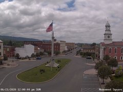 view from 13 East Market Street - Lewistown PA (west) on 2020-06-21