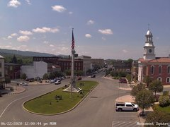 view from 13 East Market Street - Lewistown PA (west) on 2020-06-22