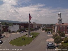 view from 13 East Market Street - Lewistown PA (west) on 2020-06-23