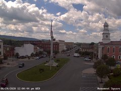 view from 13 East Market Street - Lewistown PA (west) on 2020-06-24