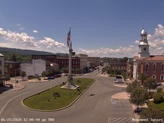 view from 13 East Market Street - Lewistown PA (west) on 2020-06-25