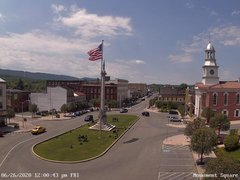 view from 13 East Market Street - Lewistown PA (west) on 2020-06-26