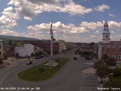 view from 13 East Market Street - Lewistown PA (west) on 2020-06-30