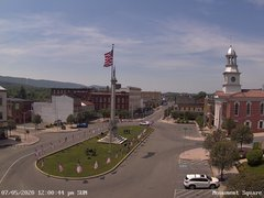 view from 13 East Market Street - Lewistown PA (west) on 2020-07-05