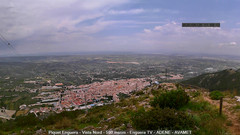 view from Enguera ADENE on 2020-05-25