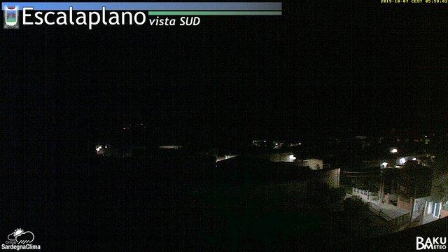 time-lapse frame, Escalaplano webcam