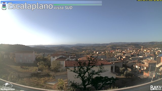 time-lapse frame, Escalaplano webcam
