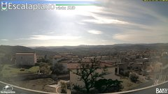 view from Escalaplano on 2019-11-14