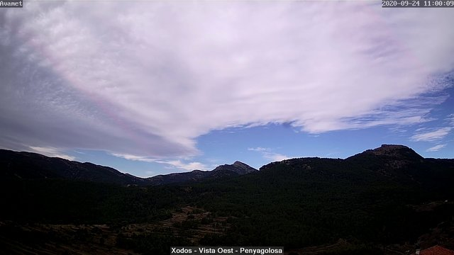 time-lapse frame, Xodos - Ajuntament (Vista Oest) webcam