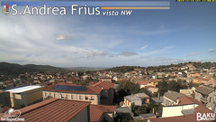view from Sant'Andrea Frius on 2019-11-14