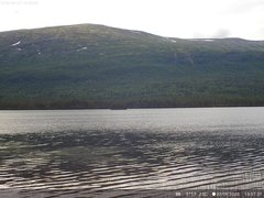 view from Lesjaskogsvatnet on 2020-07-27
