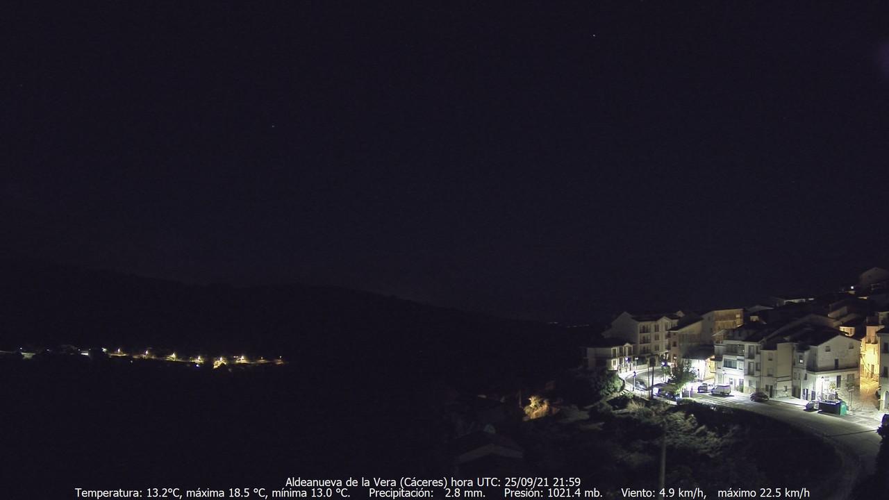 time-lapse frame, Meteogredos webcam