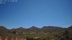 view from Borriol - la Vall del Morico (Vista Est-Desert) on 2021-07-14