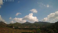 view from Borriol - la Vall del Morico (Vista Est-Desert) on 2021-10-18