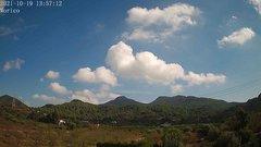 view from Borriol - la Vall del Morico (Vista Est-Desert) on 2021-10-19