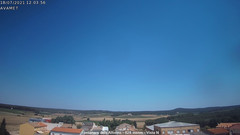 view from Fontanars2 AVAMET on 2021-07-18