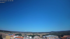 view from Fontanars2 AVAMET on 2021-07-27