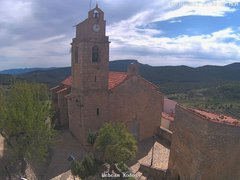 view from Xodos - Ajuntament (Plaça de l'Esglèsia)  on 2021-10-04