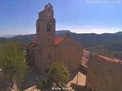 view from Xodos - Ajuntament (Plaça de l'Esglèsia)  on 2021-10-12