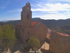 view from Xodos - Ajuntament (Plaça de l'Esglèsia)  on 2021-10-25