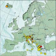 view from Erdbeben Europa on 2021-03-08