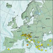 view from Erdbeben Europa on 2021-07-15