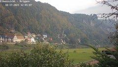 view from Webcam in Bad Schandau Sächsische Schweiz on 2021-10-17