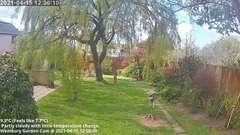 view from Wembury, Devon. Garden Cam on 2021-04-15