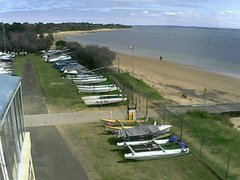 view from Cowes Yacht Club - West on 2021-09-15