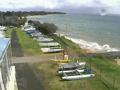 view from Cowes Yacht Club - West on 2021-09-20