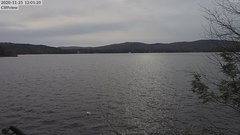 view from 4th Lake, Inlet, NY on 2020-11-25