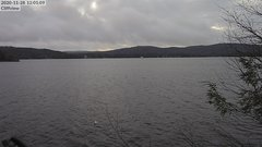 view from 4th Lake, Inlet, NY on 2020-11-28