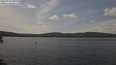 view from 4th Lake, Inlet, NY on 2021-07-24