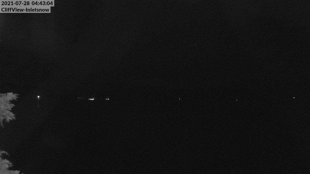 time-lapse frame, 4th Lake, Inlet, NY webcam
