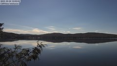 view from 4th Lake, Inlet, NY on 2021-10-24