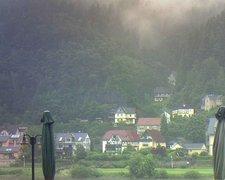 view from Webcam in Bad Schandau, Krippen & Postelwitz on 2021-07-17
