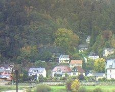 view from Webcam in Bad Schandau, Krippen & Postelwitz on 2021-10-18