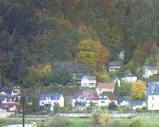 view from Webcam in Bad Schandau, Krippen & Postelwitz on 2021-10-21