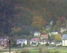 view from Webcam in Bad Schandau, Krippen & Postelwitz on 2021-10-26